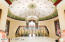 Fabulous Domed ceiling, hand painted, Inspired by a Faberge egg.