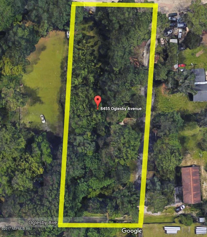 8455 OGLESBY, JACKSONVILLE, FLORIDA 32220, ,Vacant land,For sale,OGLESBY,906657