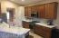 Kitchen features new KitchenAid appliances!