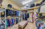 Huge closet with dressing area