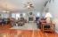Beautiful Wood Floors and Bright Open Floor Plan