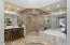 Luxurious Master Bath With Huge Shower & Whirlpool Tub.