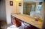 Dual sinks in Master Bath.