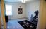 Another one of the 3 extra spacious bedrooms upstairs. All with walk-in closets.
