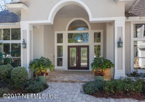 Large Outdoor Covered foyer