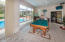 Tile sunroom opens to Living Room Master Bedroom and Great Room