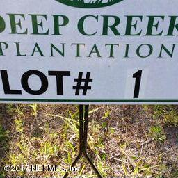 LOT 1 INGLE, BRYCEVILLE, FLORIDA 32009, ,Vacant land,For sale,INGLE,914157