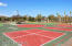 Tennis courts, sand volleyball & pickle ball courts.
