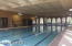 Indoor Heated Pool and Jacuzzi for water aerobics, laps and water volley ball. Recently upgraded.