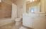 Full tile shower/tub