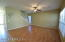 large family room and laminate flooring