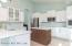 Completely remodeled kitchen with new all wood cabinetry