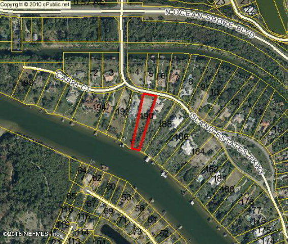 8 ISLAND ESTATES, PALM COAST, FLORIDA 32137, ,Vacant land,For sale,ISLAND ESTATES,918021