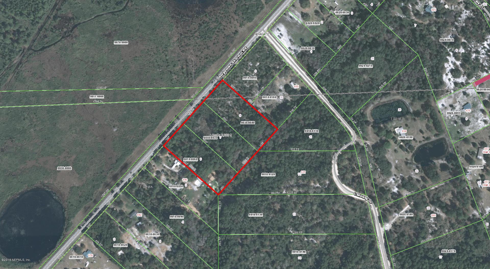 194 GEORGETOWN SHORTCUT, CRESCENT CITY, FLORIDA 32112, ,Vacant land,For sale,GEORGETOWN SHORTCUT,918107
