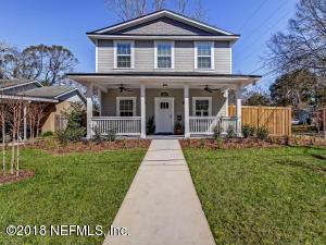 Photo of 1261 Rensselaer Ave, Jacksonville, Fl 32205 - MLS# 919792