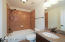 Granite tops, upgraded tile, ORB fixtures