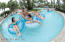 Winding lazy river is a family favorite at the Splash water park