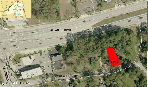 13607 BAMBOO, JACKSONVILLE, FLORIDA 32224, ,Vacant land,For sale,BAMBOO,923521