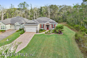 Situated on a gorgeous and private 60' premium preserve lot
