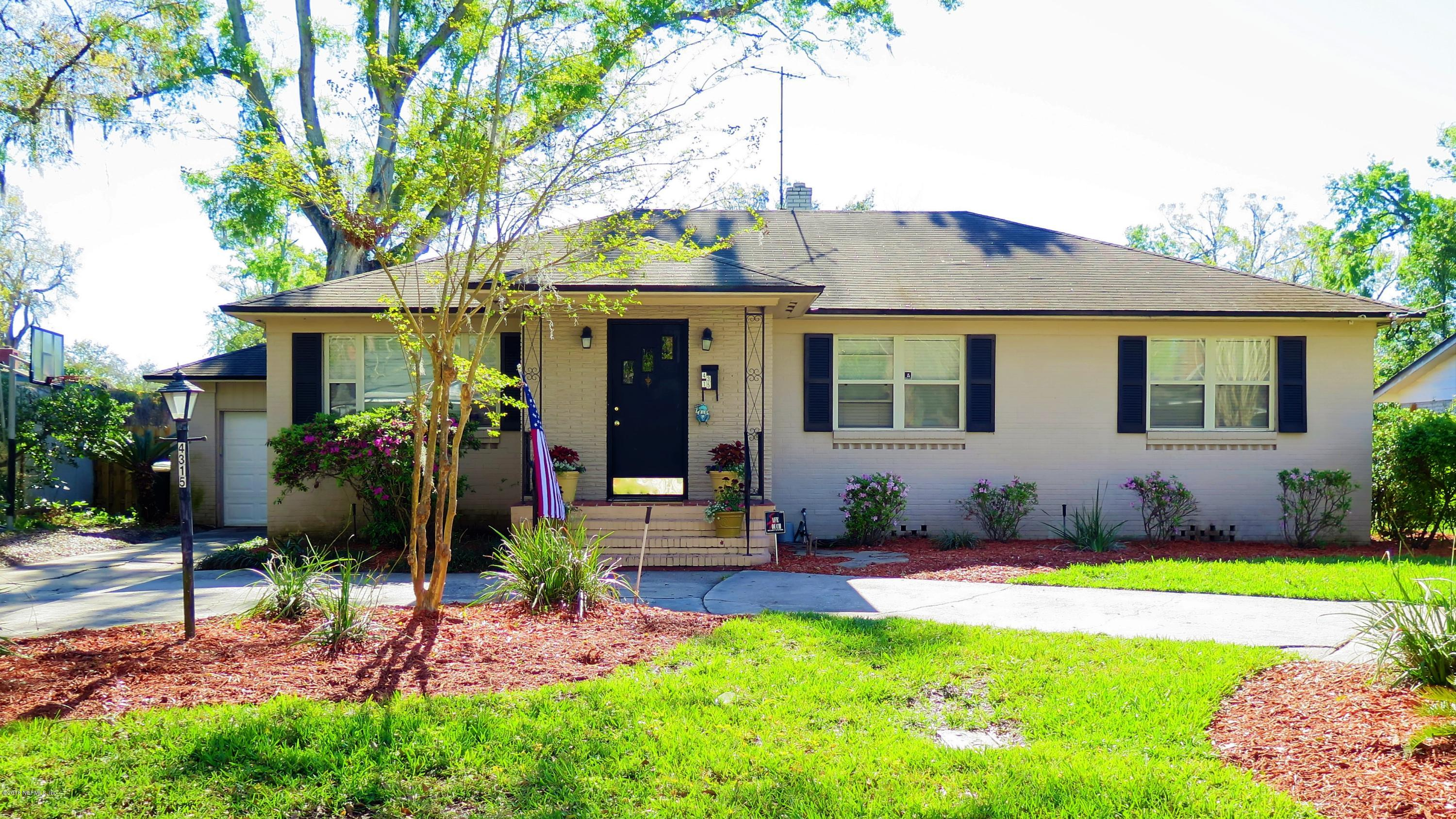 4315 WORTH, JACKSONVILLE, FLORIDA 32207, 4 Bedrooms Bedrooms, ,2 BathroomsBathrooms,Residential - single family,For sale,WORTH,924442