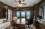 Second Floor study features stunning ocean vistas and wood walls