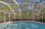 Direct View of Pool with Nature Preserve beyond
