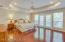 HUGE Upstairs Master Suite with Screened Balcony, Overlooking Pool and Preserve!