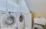 Convenient Laundry Room just off the Kitchen