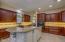 Abundance of Real Wood, Mahogany Cabinetry