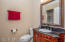 Convenient Full Bath off Foyer for Guests and for 5th Bedroom/Office Access