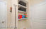 Mudroom/Laundry Room - extra storage