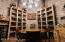 For before and after Dinner, enjoy the fabulous 4500 bottle Wine Cave made of imported antique brick.