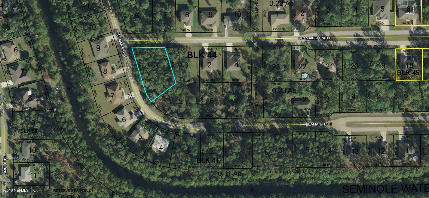 2 SEAMAIDEN, PALM COAST, FLORIDA 32164, ,Vacant land,For sale,SEAMAIDEN,931749