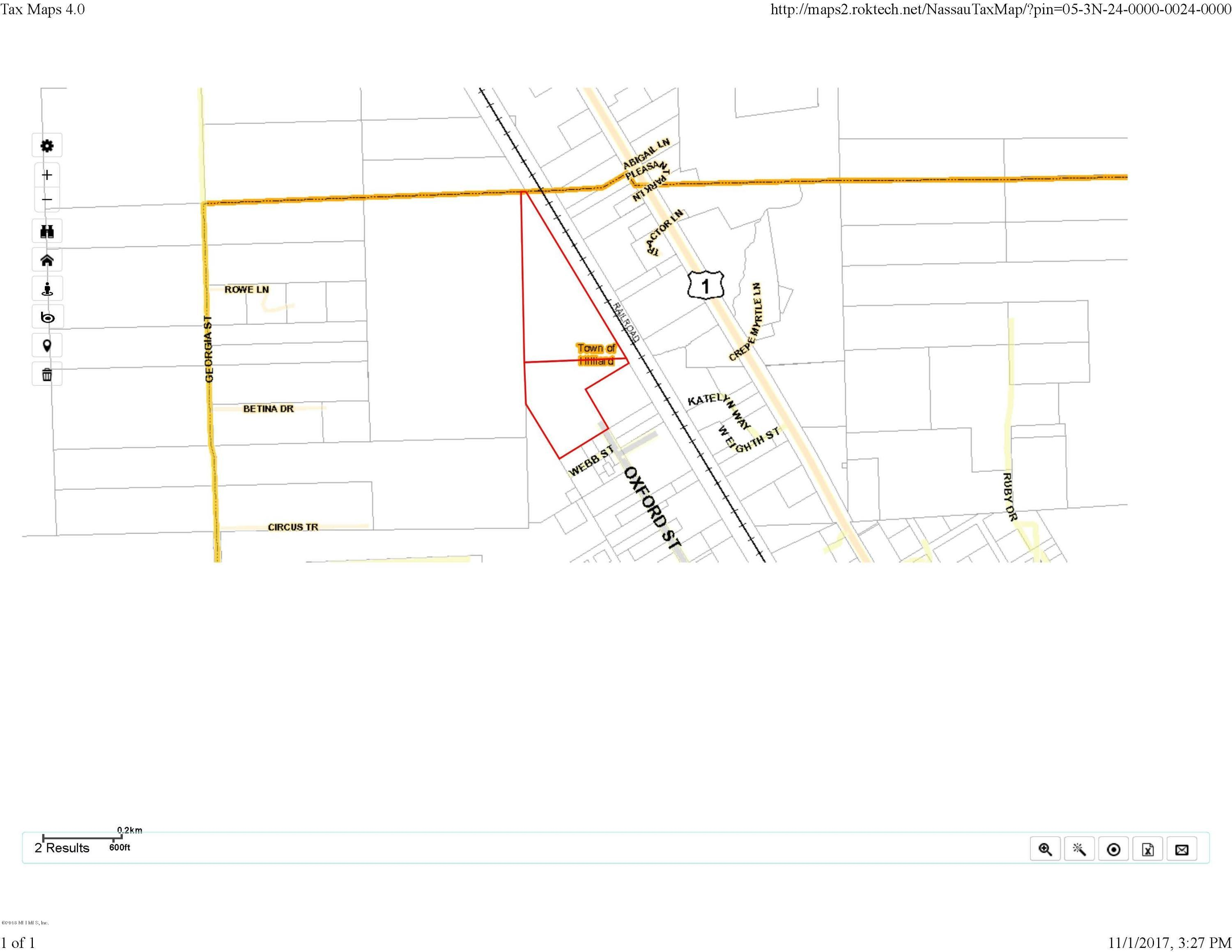 00 US HIGHWAY 1, HILLIARD, FLORIDA 32046, ,Vacant land,For sale,US HIGHWAY 1,934321