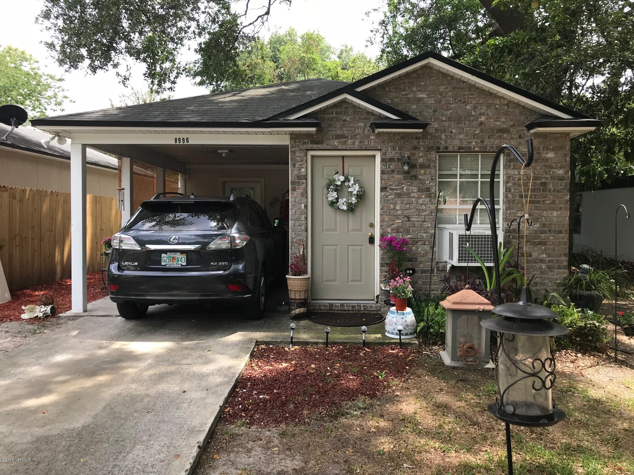 8996 HARE, JACKSONVILLE, FLORIDA 32211, 3 Bedrooms Bedrooms, ,1 BathroomBathrooms,Residential - single family,For sale,HARE,935621
