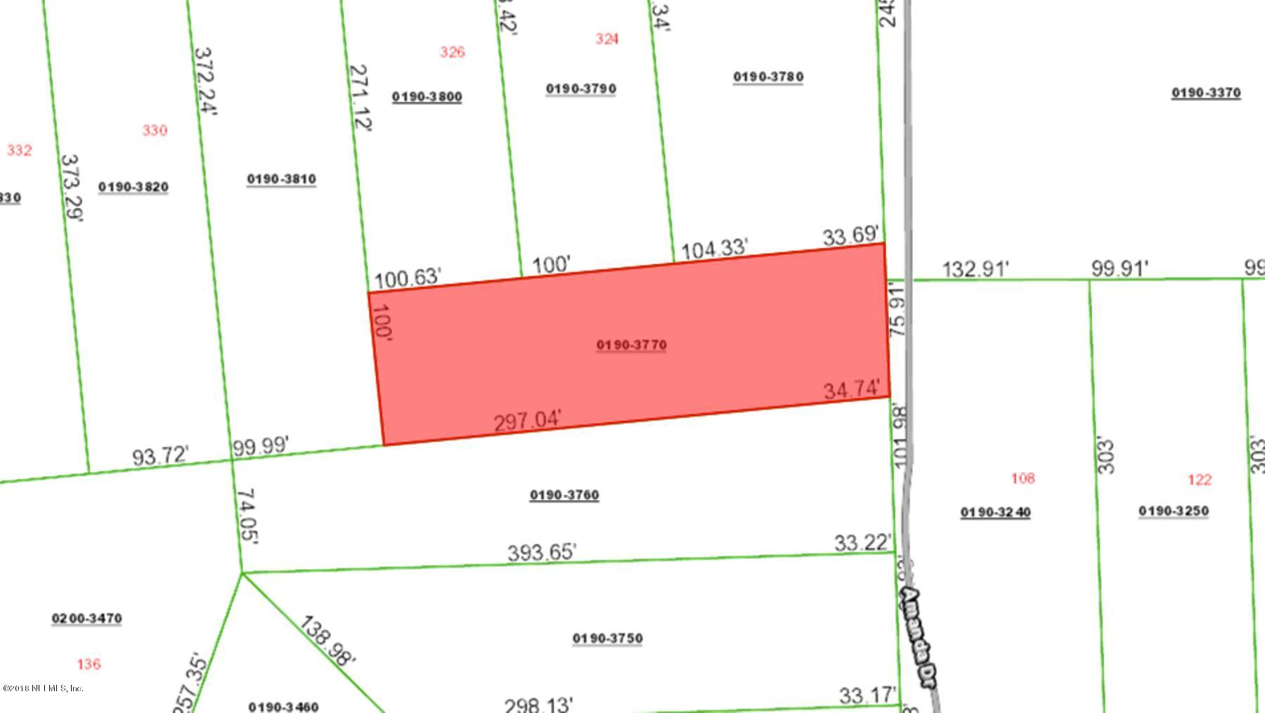 000 AMANDA, HAWTHORNE, FLORIDA 32640, ,Vacant land,For sale,AMANDA,936507
