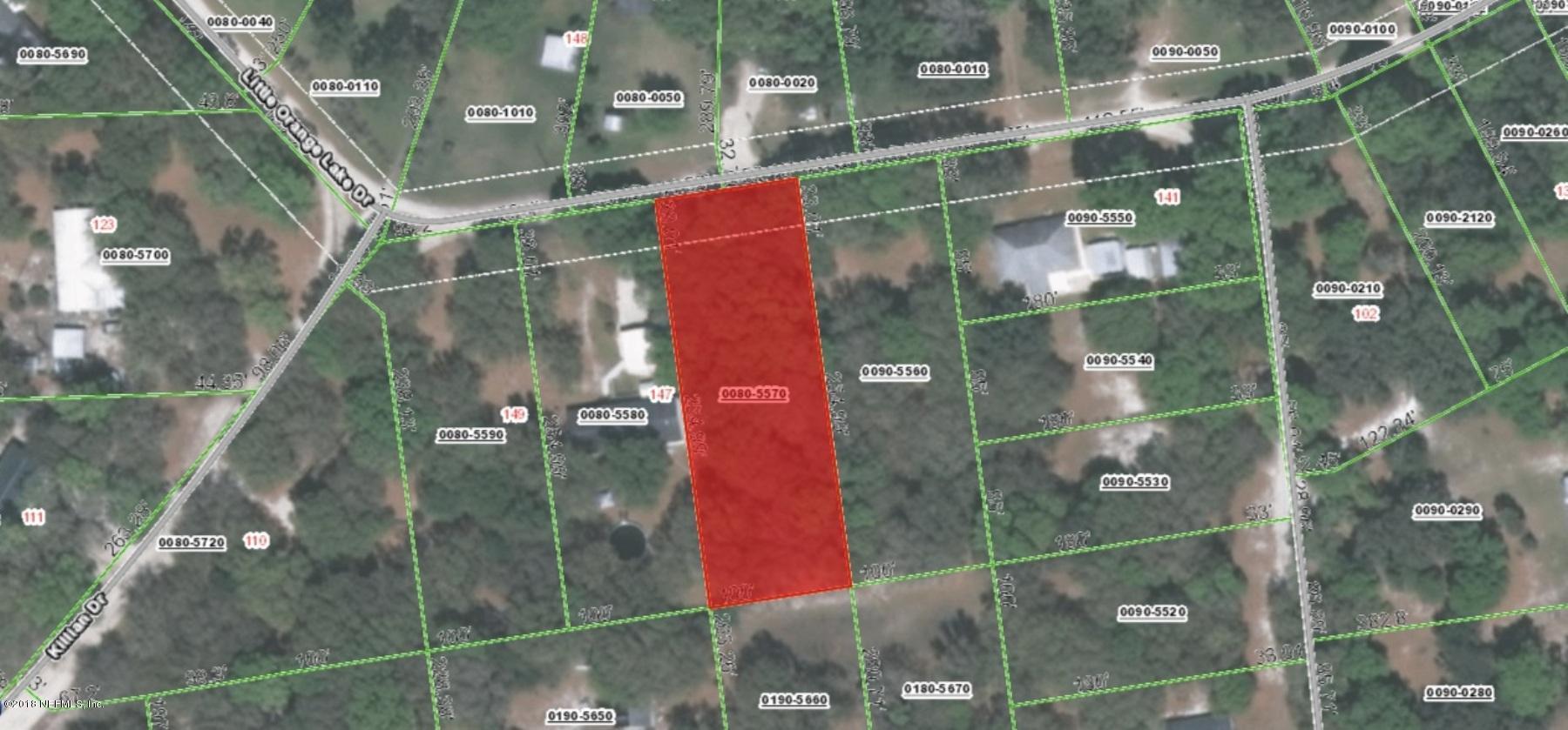000 LITTLE ORANGE LAKE, HAWTHORNE, FLORIDA 32640, ,Vacant land,For sale,LITTLE ORANGE LAKE,936536