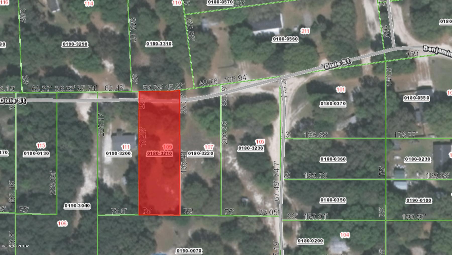 109 DIXIE, HAWTHORNE, FLORIDA 32640, ,Vacant land,For sale,DIXIE,936545