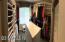Panaromic view of huge walk-in closet #1