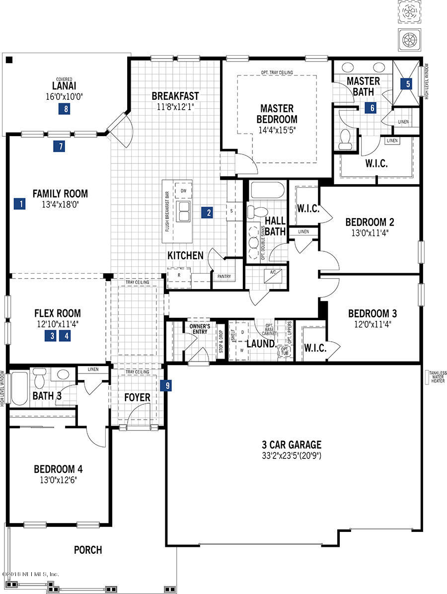 291 FRESNEL, ST AUGUSTINE, FLORIDA 32095, 4 Bedrooms Bedrooms, ,3 BathroomsBathrooms,Residential - single family,For sale,FRESNEL,937276