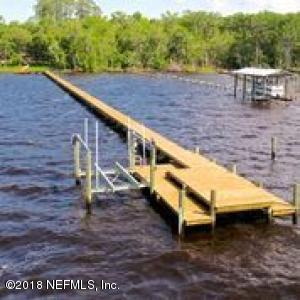 New dock on deep water