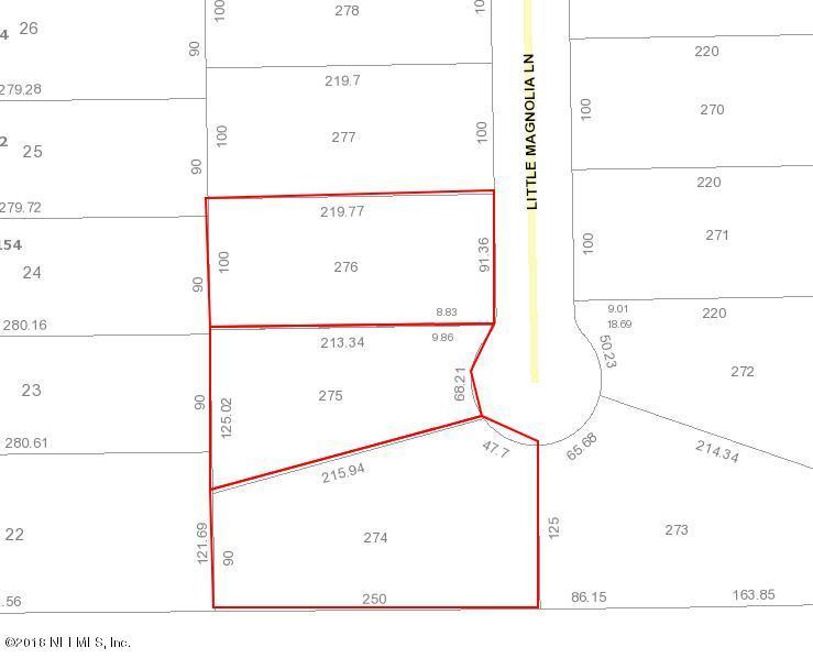 0 LITTLE MAGNOLIA, CALLAHAN, FLORIDA 32011, ,Vacant land,For sale,LITTLE MAGNOLIA,937989