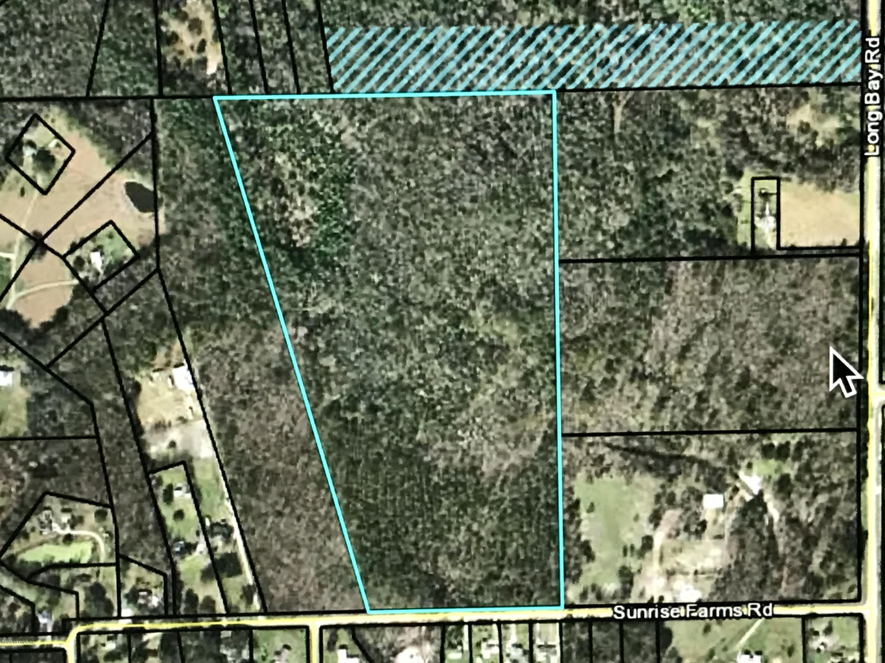 0 SUNRISE FARM, MIDDLEBURG, FLORIDA 32068, ,Vacant land,For sale,SUNRISE FARM,938869