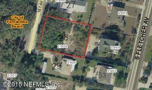 1904 1ST, FERNANDINA BEACH, FLORIDA 32034, ,Vacant land,For sale,1ST,938847