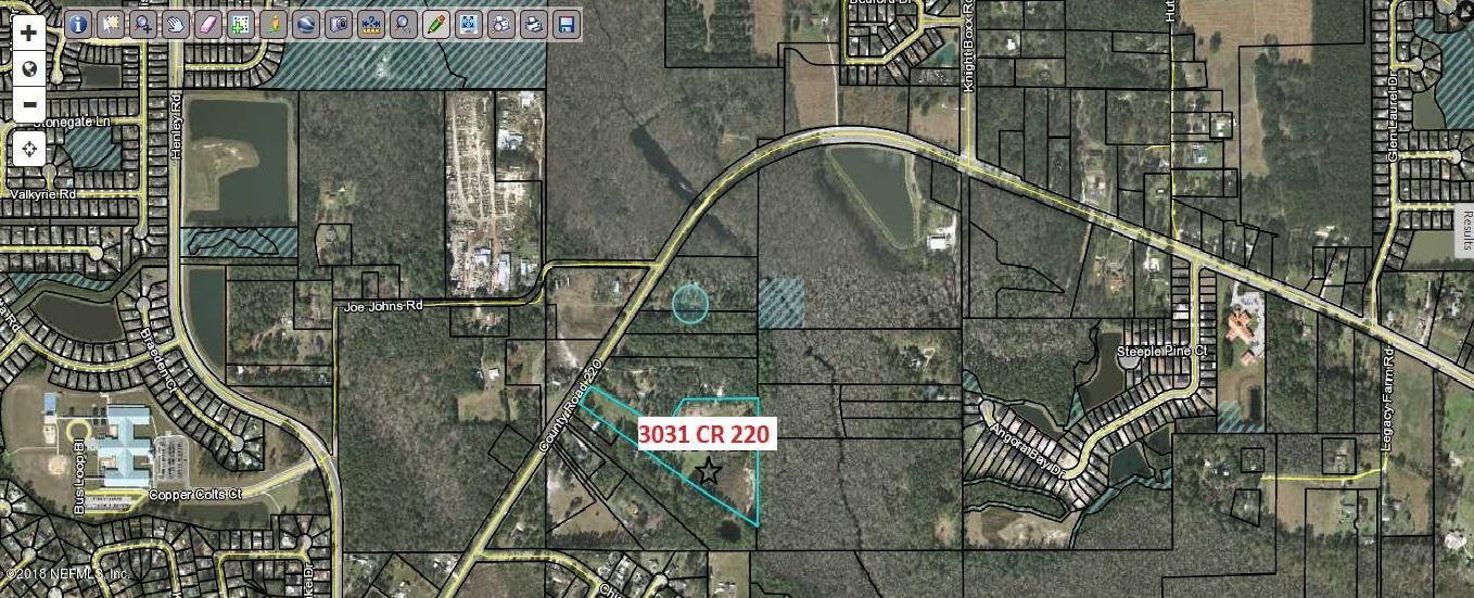 3031 COUNTY ROAD 220, MIDDLEBURG, FLORIDA 32068, ,Vacant land,For sale,COUNTY ROAD 220,940244