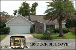 105 DUCK BILL COVE, PONTE VEDRA BEACH, FL 32082