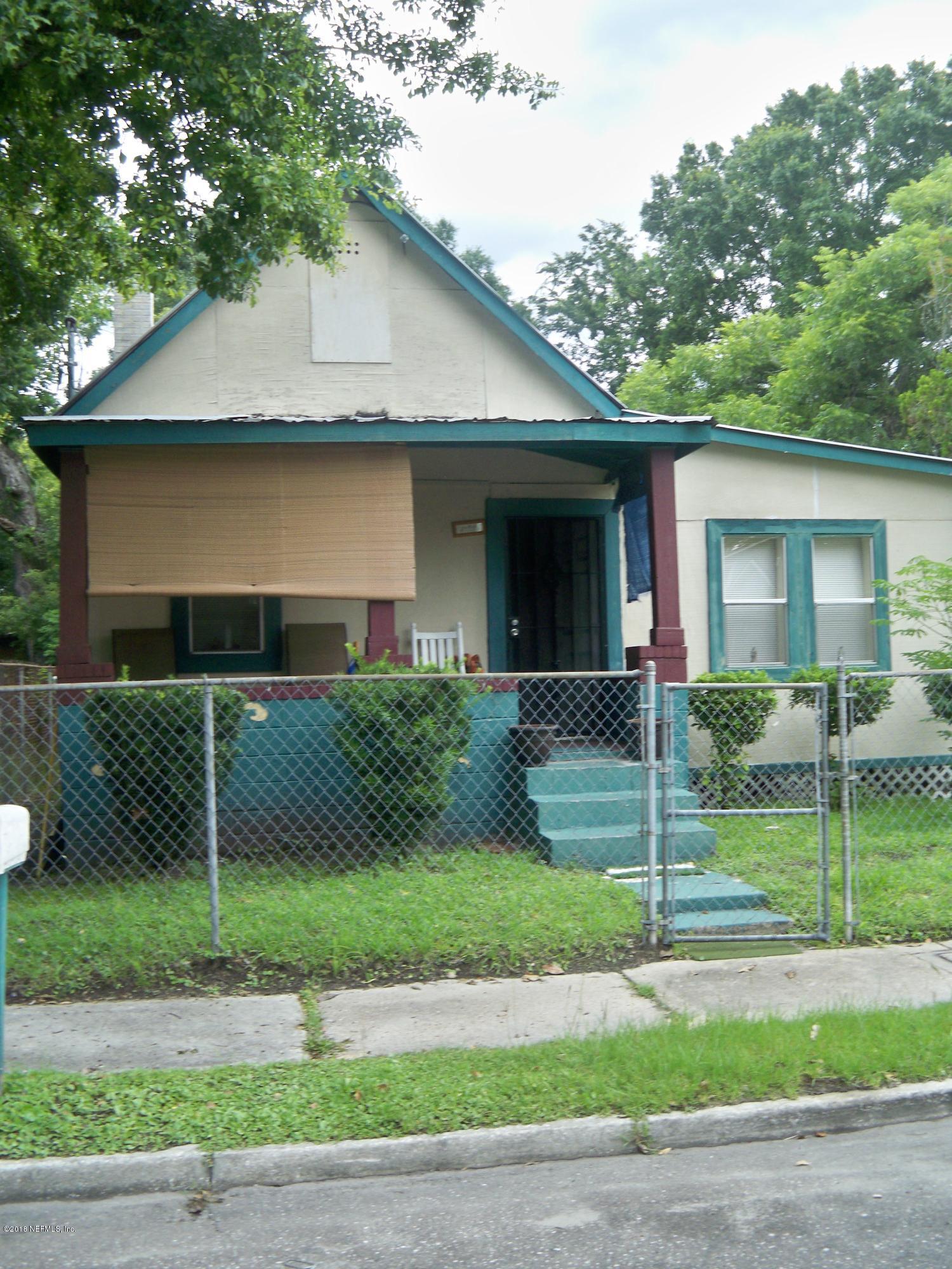1607 LOGAN, JACKSONVILLE, FLORIDA 32209, 4 Bedrooms Bedrooms, ,1 BathroomBathrooms,Residential - single family,For sale,LOGAN,940406