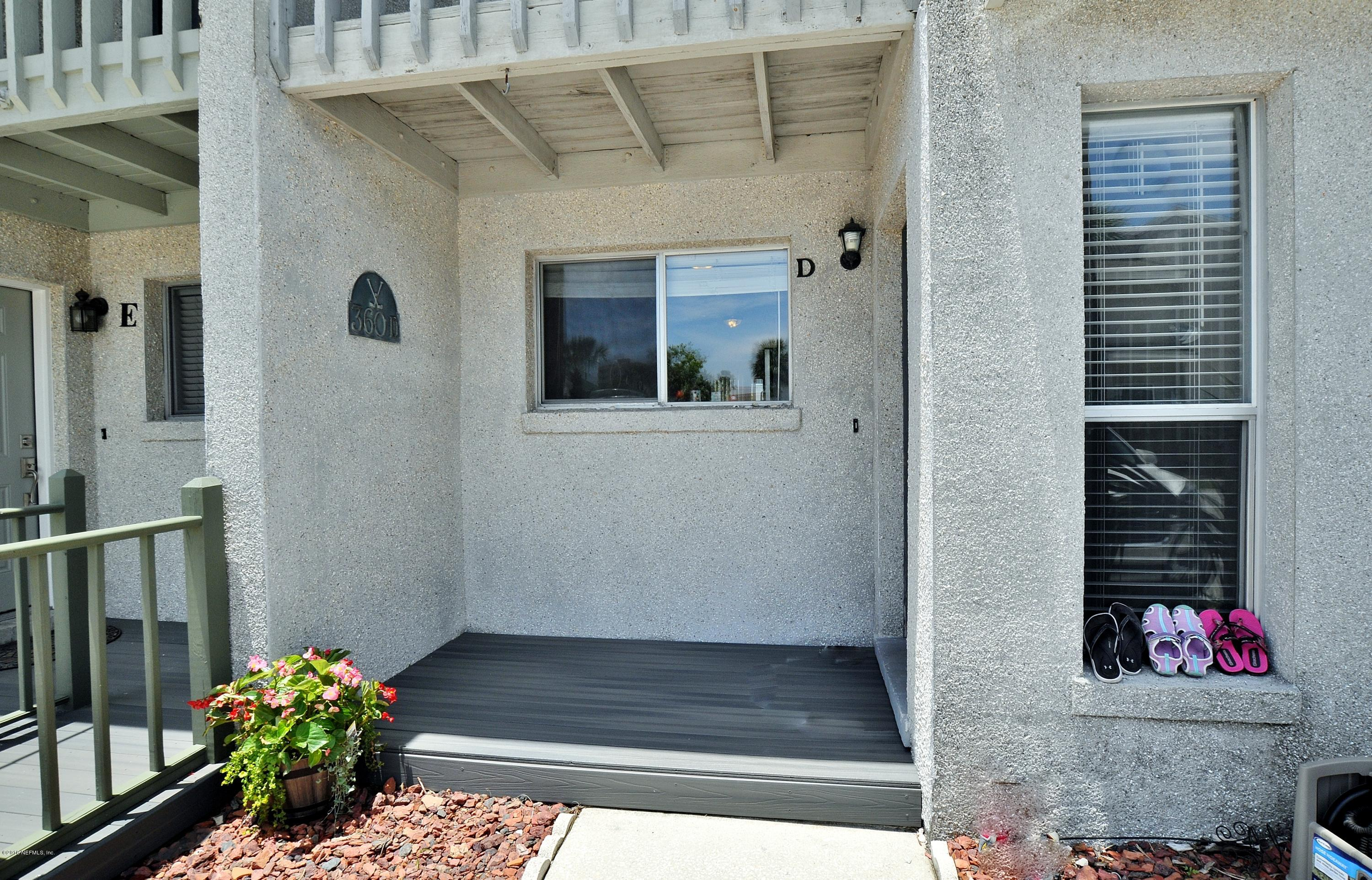 360 14TH Ave #D Jacksonville Beach, FL 32250