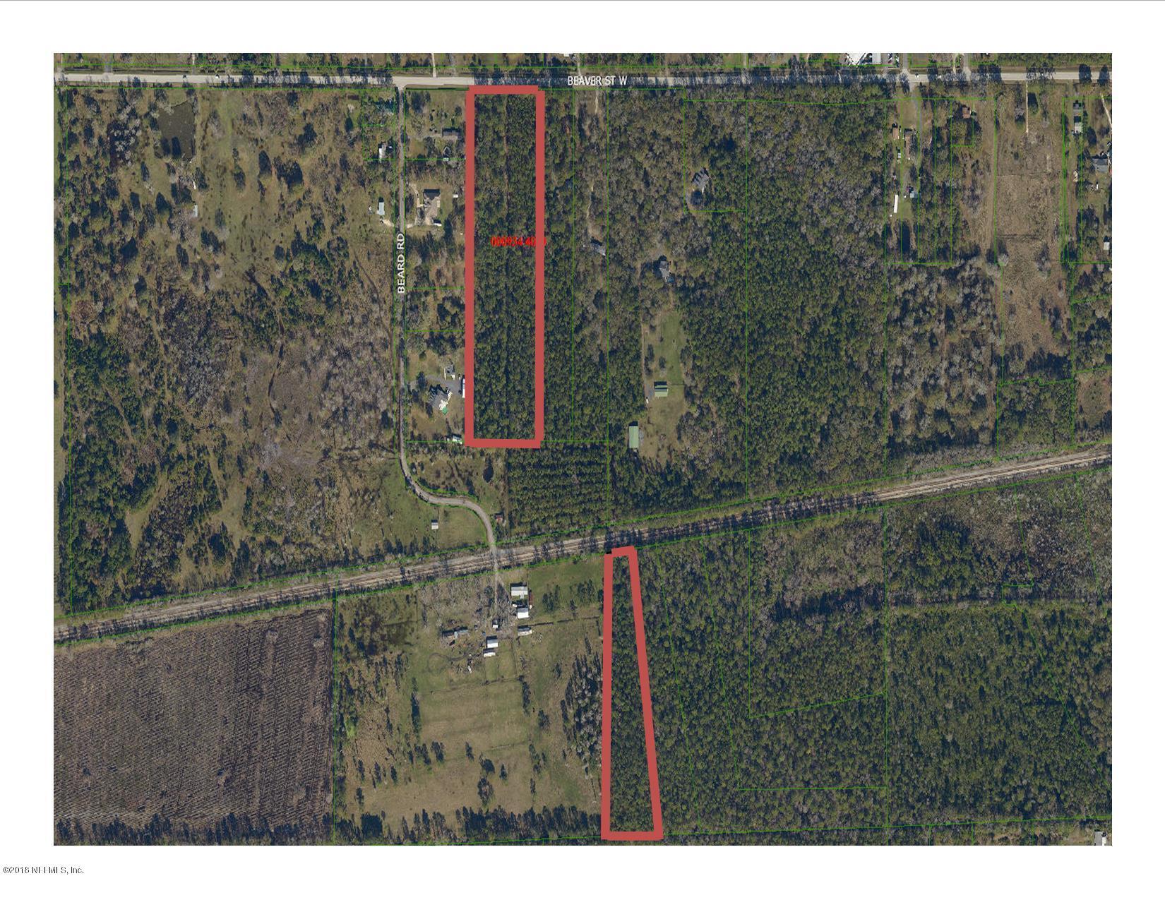 0 BEAVER, BALDWIN, FLORIDA 32234, ,Vacant land,For sale,BEAVER,896696