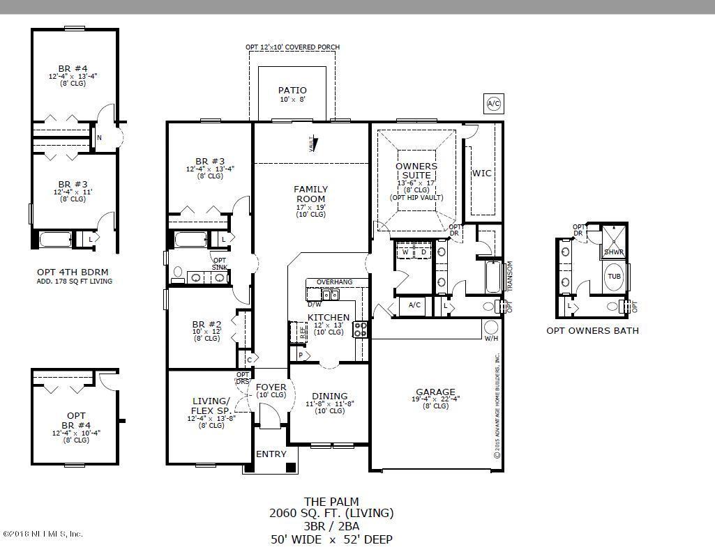 96405 GRANITE, YULEE, FLORIDA 32097, 3 Bedrooms Bedrooms, ,2 BathroomsBathrooms,Residential - single family,For sale,GRANITE,943095